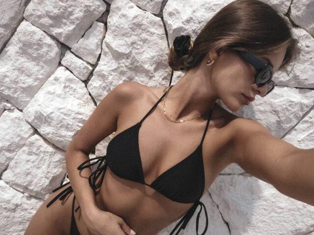 Avorio Top & Acaia bottom in black ☺️ #staytuned • • • • • • #aesthetic #aestheticlypleasing #beachwear #swimwear #swimsuit #bikinigirl #bikinibody #model #body #girls #beautiful #bikinilife #summer #fashion #beauty #sunnyday #sun #misseiwoman #summertime #instafashion #beach #design #holiday #palmtrees #nature #girl #woman #polskamarka